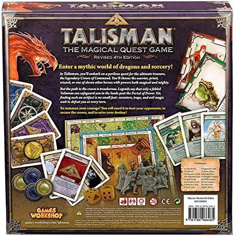Games Workshop gaw89001 – Talisman 4th Edition Core Game: Amazon ...