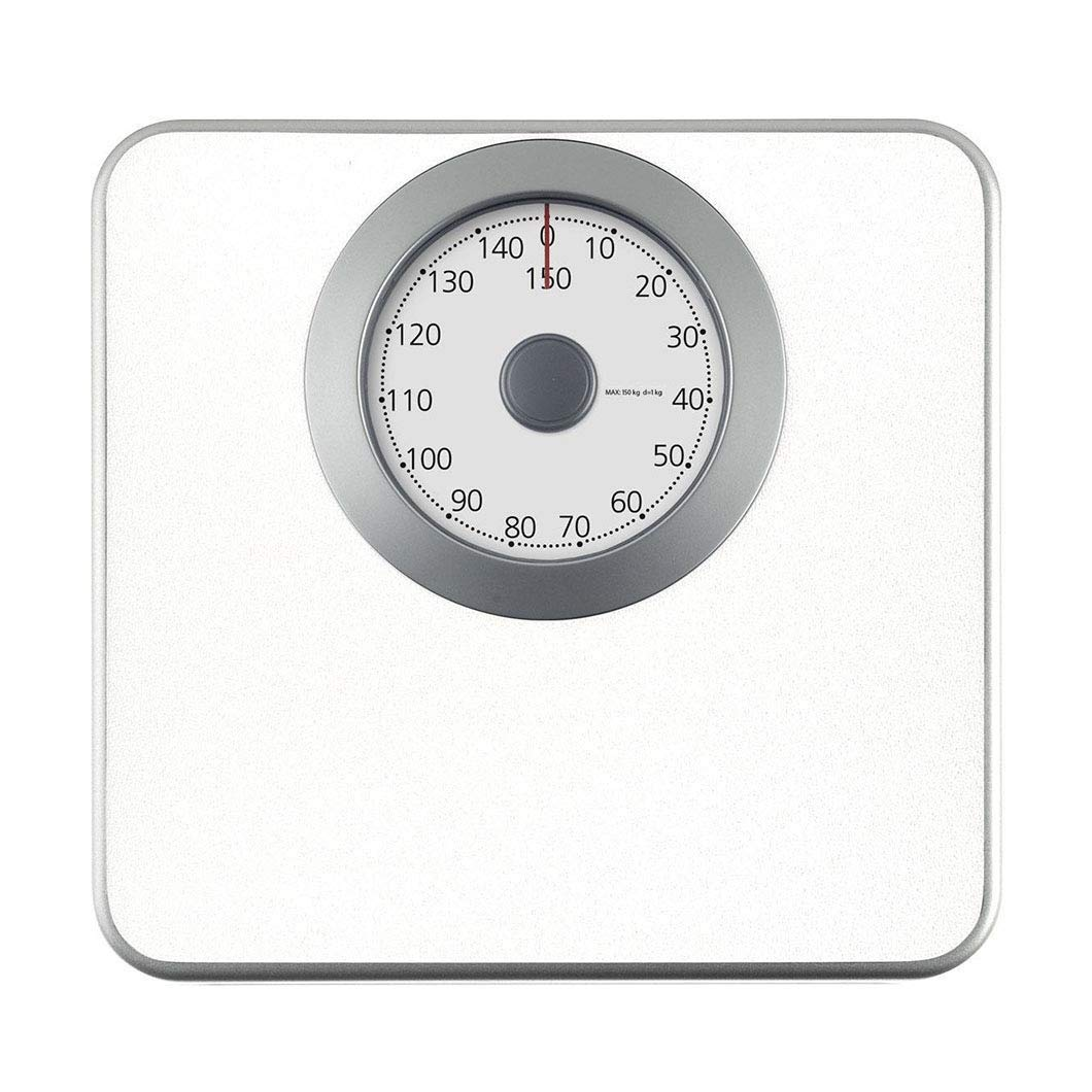 Lcxliga Mechanical Bathroom Scale - Oversized Dial Scale,Highly Accurate Body Weight Scales,Capacity 330 Lbs. (Color : White) by Lcxligang
