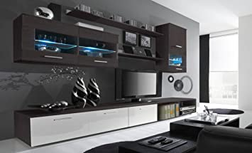 Home innovazione - Mobile soggiorno - Parete da soggiorno con LED ...