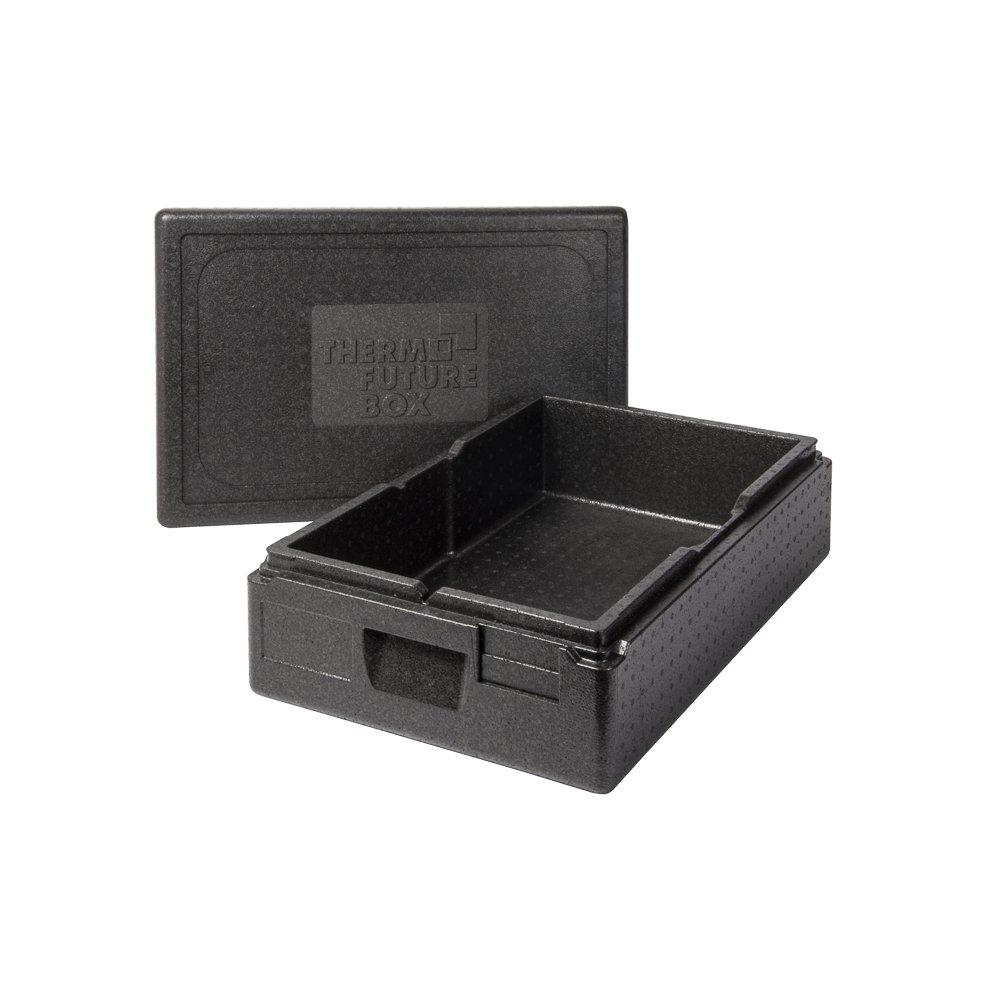 Schwarz Thermo Future Box Box GN 1//1 Premium-117 mm Transport-und Isolierbox expandiertes Polypropylen 60 x 40 x 18 cm EPP