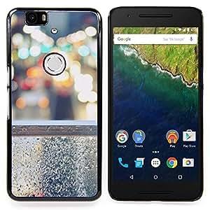 Stuss Case / Funda Carcasa protectora - Luces de la ciudad Nyc tráfico Coches - Huawei Google Nexus 6P