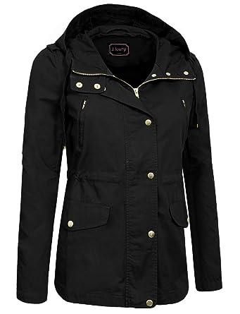 36511b78ef2f9 J. LOVNY Women s Versatile Military Anorak Jacket Vest in Various Styles at  Amazon Women s Coats Shop