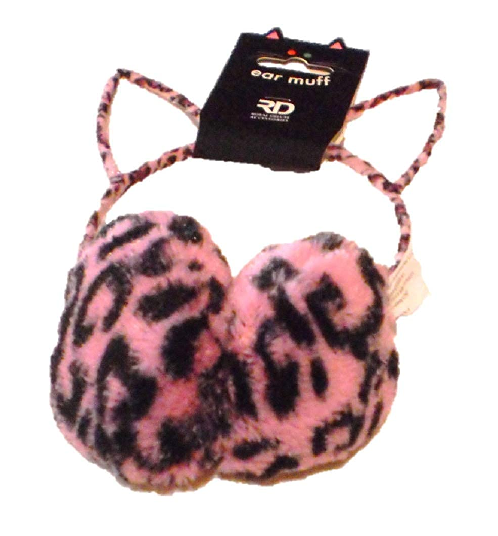 Girls Cat Ear Earmuffs