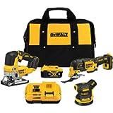 DEWALT DCK300P1 20V MAX* XR® Brushless 3-Tool Woodworking Kit