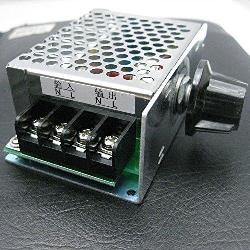 Morza 4000W 220V AC SCR Vitesse du Moteur du contr/ôleur Module r/égulateur de Tension /électronique Variateur Vitesse R/èglement sur Le contr/ôle