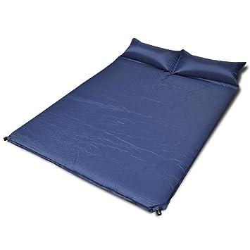vidaXL cama colchón hinchable individual 185 x 55 x 3 cm ...