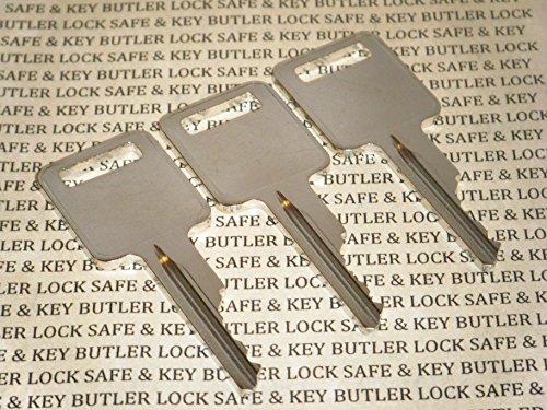 - 3 Pre-Cut JMA Keys For Case Ignition Keys Skid Steer 1838 1840 1835B 1835C 1845B 1845C Loader & Bobcat. Will Work Out of The Envelope.