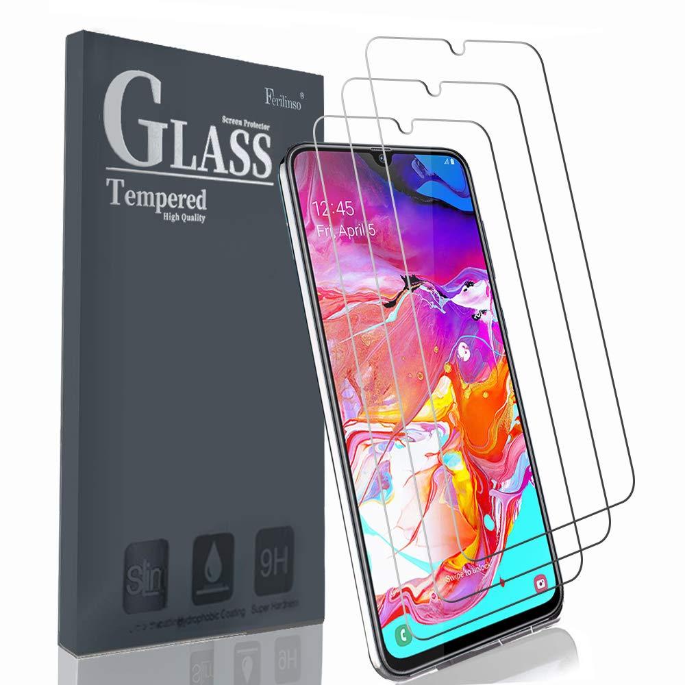 Vidrio Templado Samsung A70 [3un.] FERILINSO