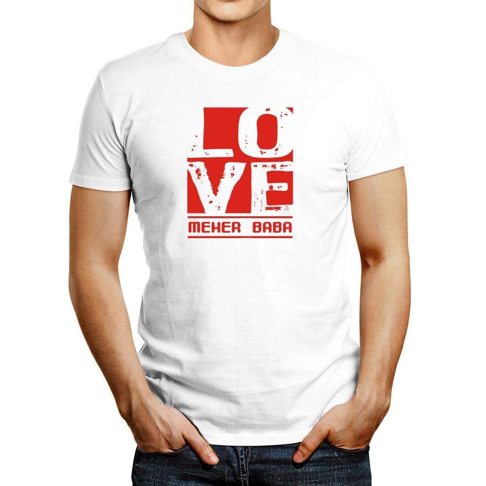 Idakoos Love Meher Baba T Shirt 3069