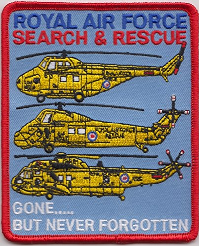 1000 Flags MOD Approved - Royal Navy Search and Rescue Gone.But Never Forgotten Embroidered Crest Badge Patch