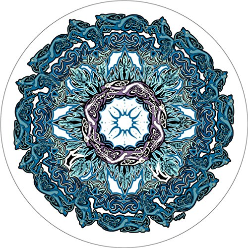Wholesale Celtic Mandala Spare Tire Cover for 225/75R16 Jeep RV Camper VW Trailer etc(Select Popular Sizes from Drop Down menu or Contact us Dubois(c)