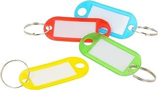 Storm&Lighthouse - Porte-clés en plastique pour clés, bagages, clés USB - Assortiment de couleurs 50pcs clés USB - Assortiment de couleurs 50pcs