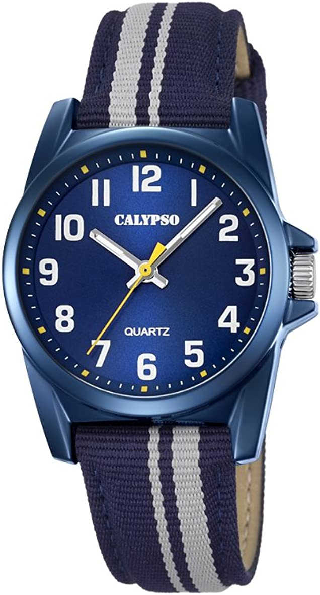 Calypso Reloj Análogo clásico para Unisex de Cuarzo con Correa en Nailon K5707/7