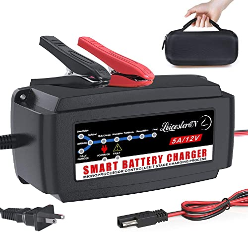 LEICESTERCN Automatic Battery Charger