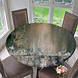 kitchen 67 restaurant PINAFORE HOME Round Table Tablecloth Painted Background Wallpaper Texture Acrylic Paint on Canvas for Wedding Restaurant Party 67