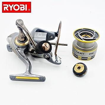 BaZhaHei Carretes de pesca Ryobi Zauber Cuerpo de Aluminio Rotor ...