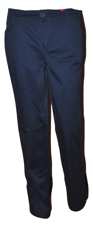 Charter Club Women's Slim It Up Navy Pants Size 4