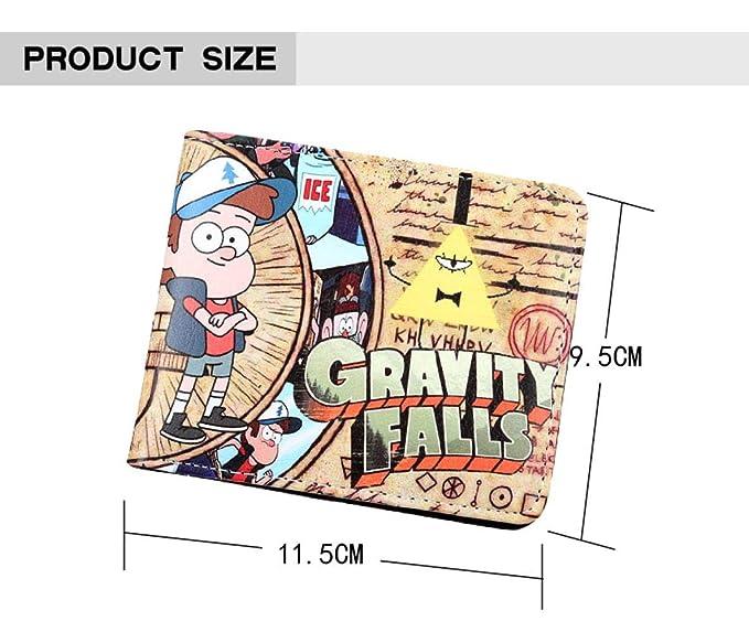 Cartera Anime Gravity Falls Billetera Bill Brown Monedero ...