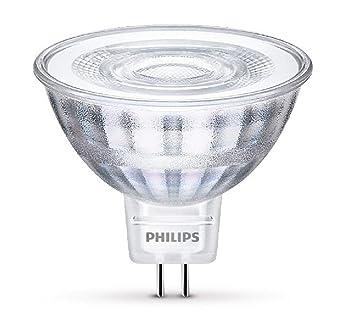 Philips Foco LED GU5.3, 5 W, luz blanca