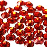 750 pcs HYACINTH orange 5mm DIY Resin Round Rhinestones Gems 14 facets Flatback *ship with FREE GIFT from GreatDeal68*