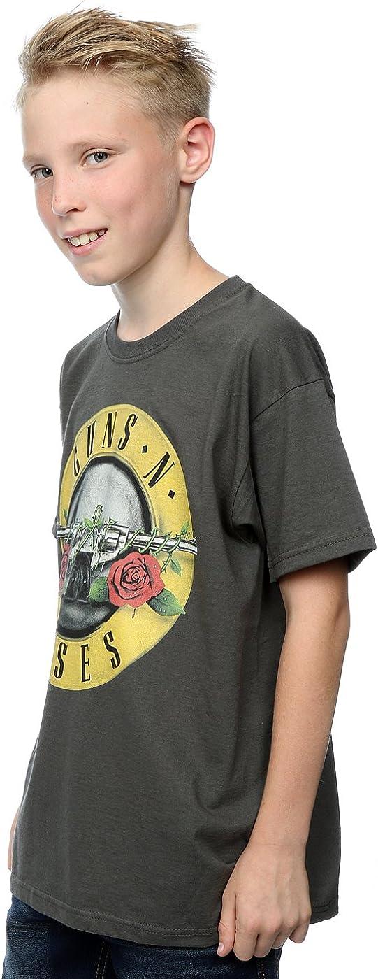 Guns N Roses Gar/çon Bullet Logo T-Shirt