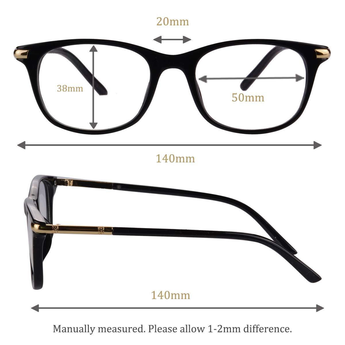 38ab311b4a Amazon.com  UOOUOO TR90 Lightweight Blue Light Blocking Glasses  Anti-fatigue Computer Eyewear-017(Blue coating lens