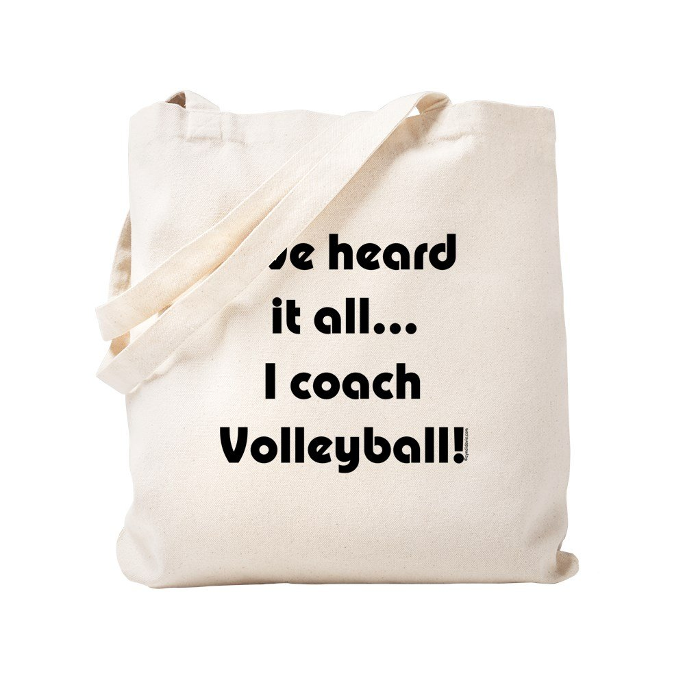 CafePress - I've Heard It All.Volleyball - Natural Canvas Tote Bag, Cloth Shopping Bag