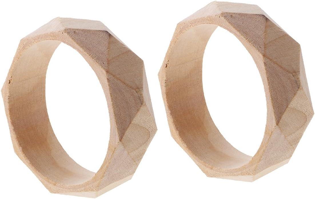 Natural Round Wooden Earrings 48mm diameter Birchwood Brown Wood Jewellery