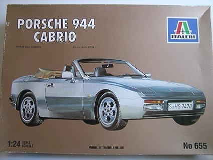 Amazon.com : Italeri Models---Porsche 944 Cabrio Sports Car---Plastic Model Kit : Everything Else