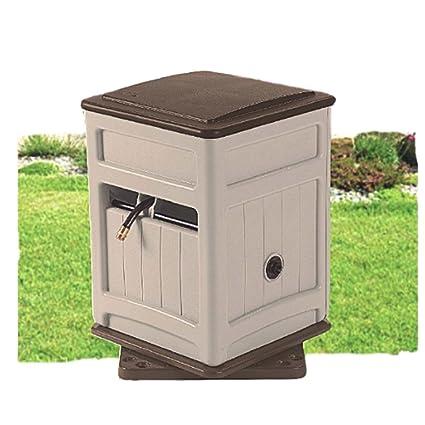 Multidirectional Hose Reel Hold 220 FT Garden Cabinet Box Hide Heavy Duty  Storage Bin Portable