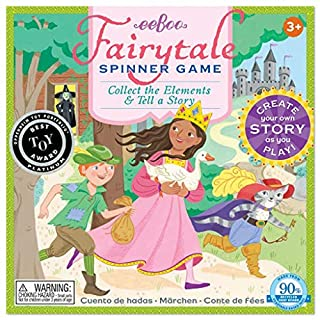 eeBoo Fairy Tale Spinner Board Game for Kids