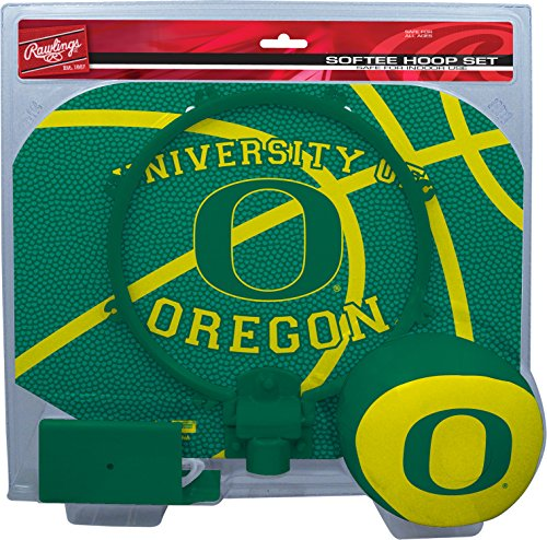 NCAA Oregon Ducks Kids Slam Dunk Hoop Set, Green, Small Basketball Merchandise