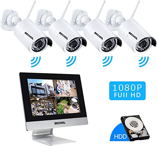 Bechol 1080P Wireless Security Surveillance