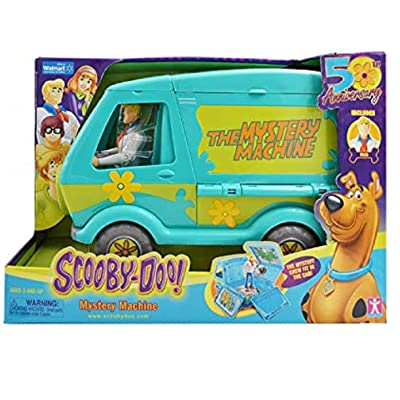 Scooby-Doo Mystery Machine Play Set. Opens into a Large Playset!. Celebrating 50 Years. Includes Mystery Machine 50 Years!: Toys & Games