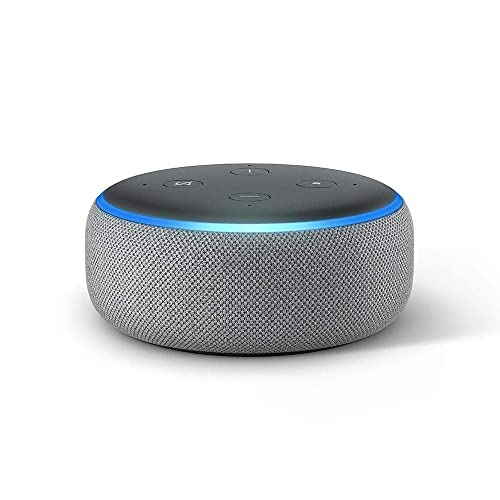 Echo Dot 3 ª generación Altavoz inteligente con Alexa tela de color gris oscuro