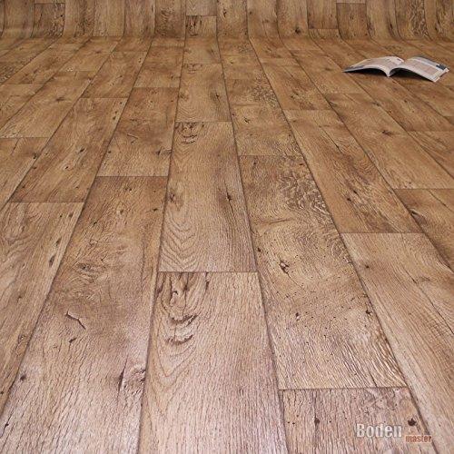 PVC Bodenbelag Holz Rustikal Natur Breite 2 m (9,95 € p. m²)