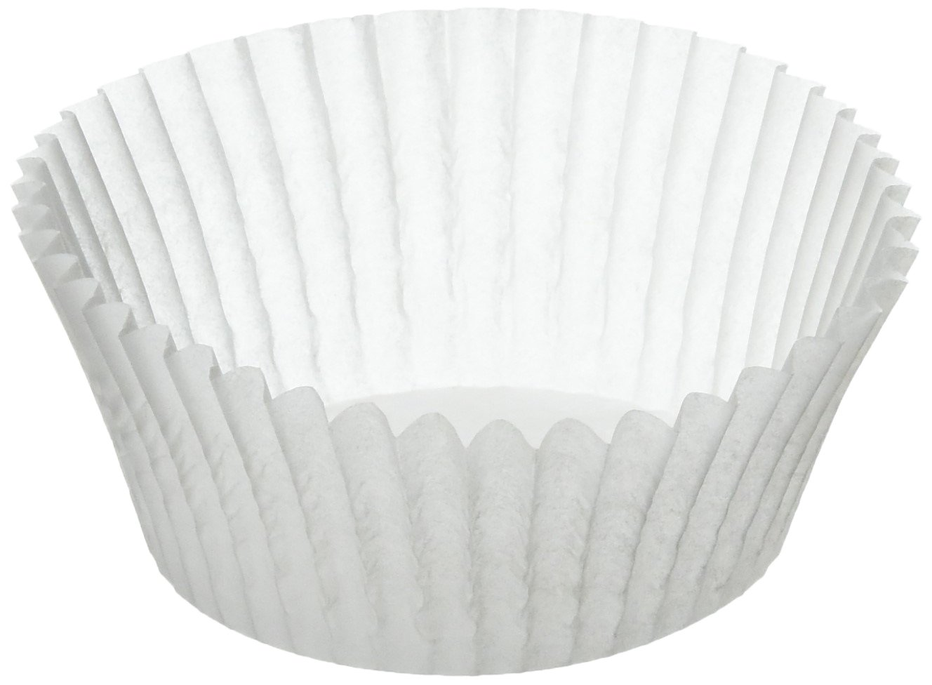 KAISER Creativ Muffin Paper Cups Pack of 200 White /Ø 7 cm High-Quality and Easily Removable Greaseproof Paper Ideal for Sweet and Savoury