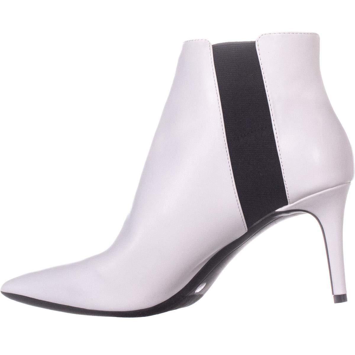 8956d04863ff I35 Irsia Pointed Toe Ankle Boots, Bright White, 5.5 US: I35:  Amazon.com.au: Fashion