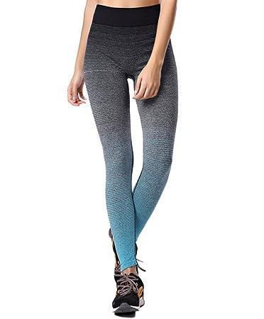 c7cddd6215a3 ZZLAY Damen Sport Hosen Yoga Leggings Strumpfhosen Workout Pants Laufhose