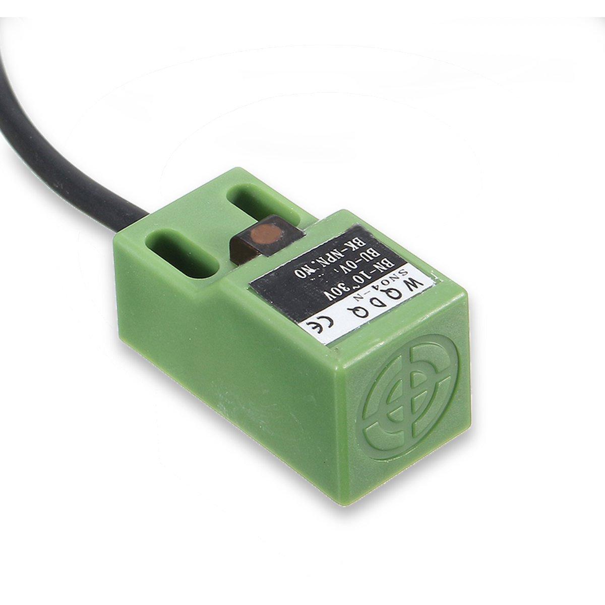 5 Pezzi SN04-N 5 millimetri Sensore prossimit/à induttivo approccio prova NPN NO DC10-30 ILS