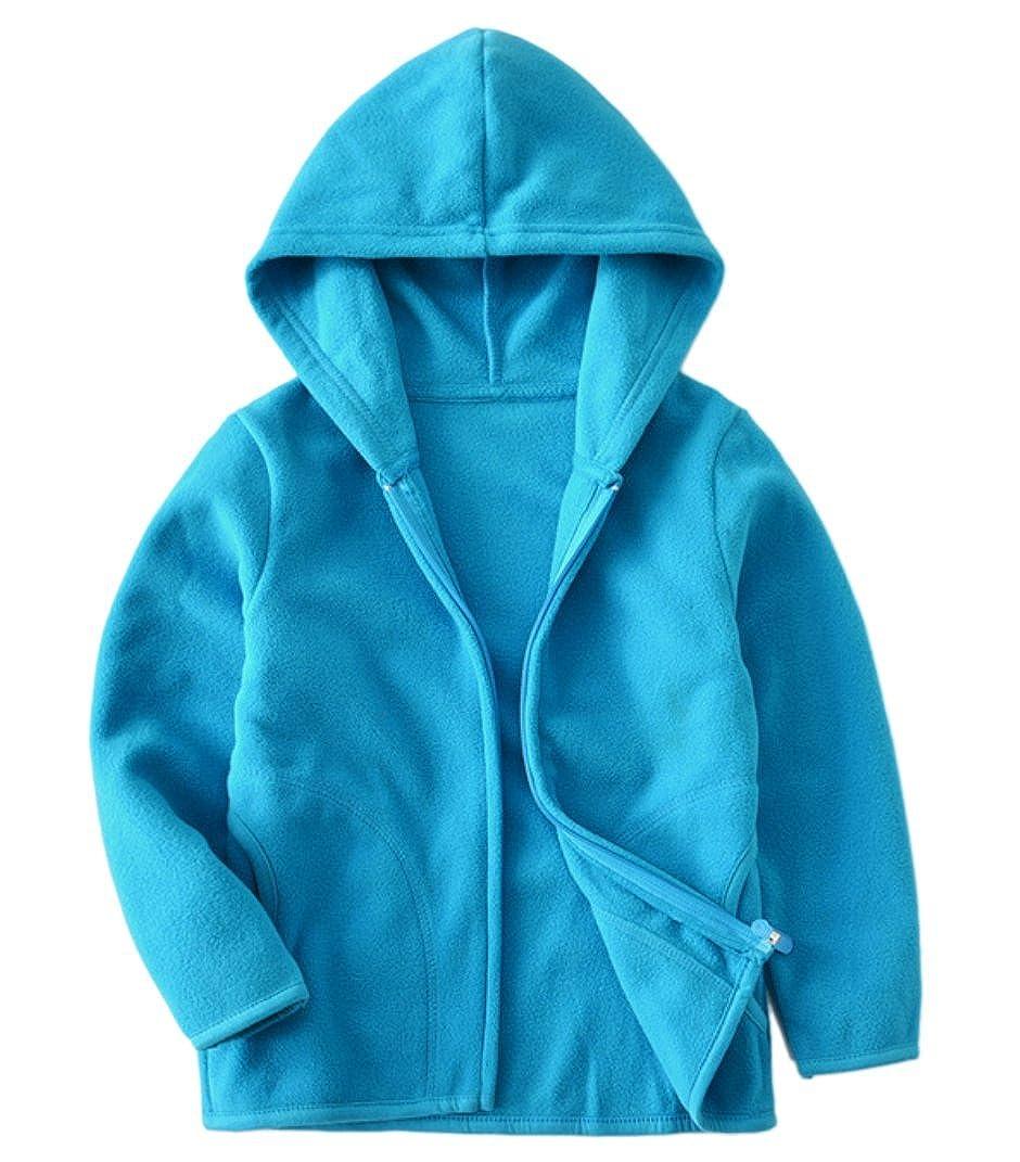Dalary Baby Boys&Girls Polar Fleece Zipper Christmas Hoody Jacket Outerwear Three Babies_310