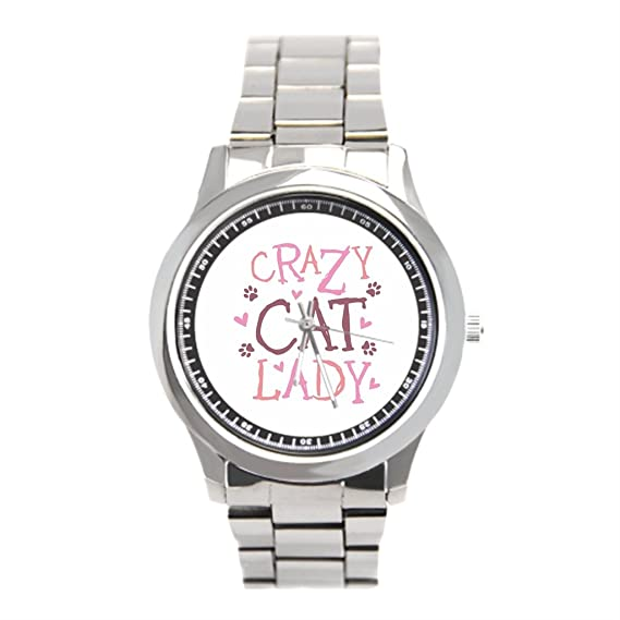 dodoband malla de acero inoxidable reloj Cat refranes Ladies relojes de acero inoxidable: Amazon.es: Relojes