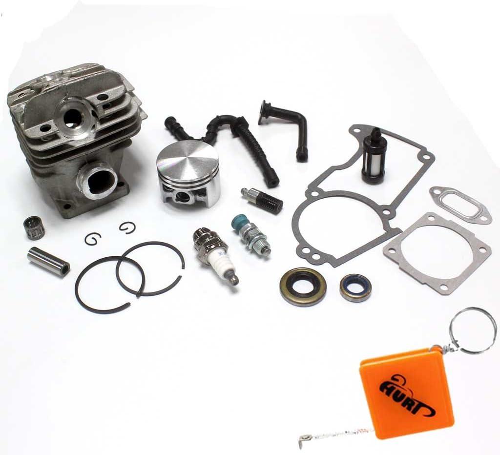 Huri 44 Mm Kolben Zylinder Dichtsatz Filter Passend Für Stihl 026 Ms260 Auto
