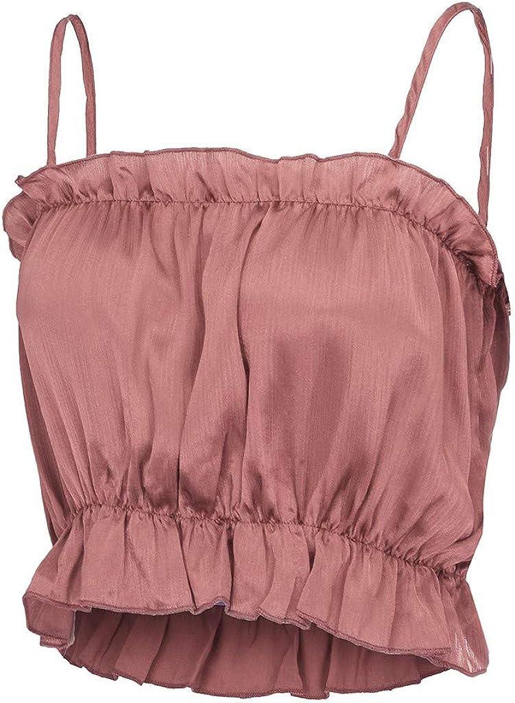 kingfansion Womens Tops Long Sleeve T Shirt Tank Blouse Sleeveless and Casual Waistcoat Tank Tops for Women