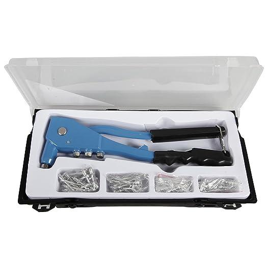 60 opinioni per Cogex 22126- Valigetta con rivettatrice a pinza, in alluminio, 4 testine, con