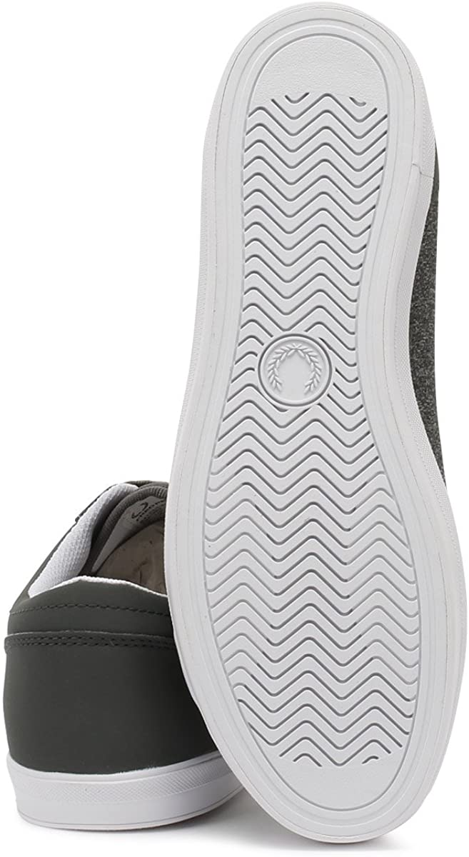 Fred Perry Mens Baseline Bonded Marl Sneaker