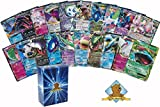 10 Pokemon Card Lot of ALL EX ULTRA RARES! No Duplication! Includes Golden Groundhog Box!