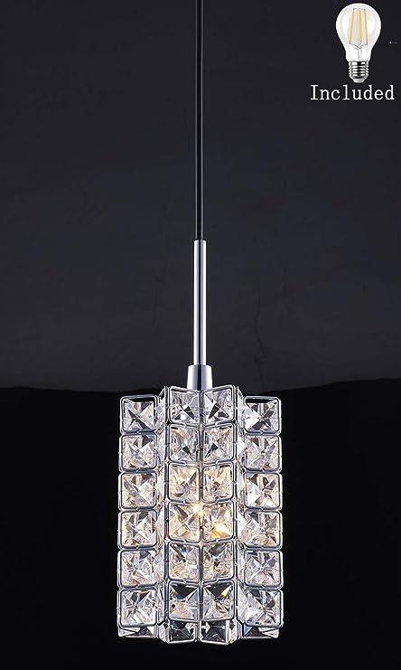 Smart Lighting Shupregu 1 Light Pendant Crystal Mini Fixtures