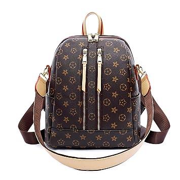 9ae35ef3b75ea JUND 2018 Lässig Wild Rucksack Frauen Versatile Umhänge Travel Backpack  Mode Schule Schultasche Retro Druck Daypack