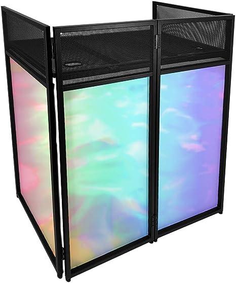 Gorilla DBS Lite DJ- Soporte para disco con estante, bolsa de transporte y tela de lycra blanca y negra: Amazon.es: Instrumentos musicales
